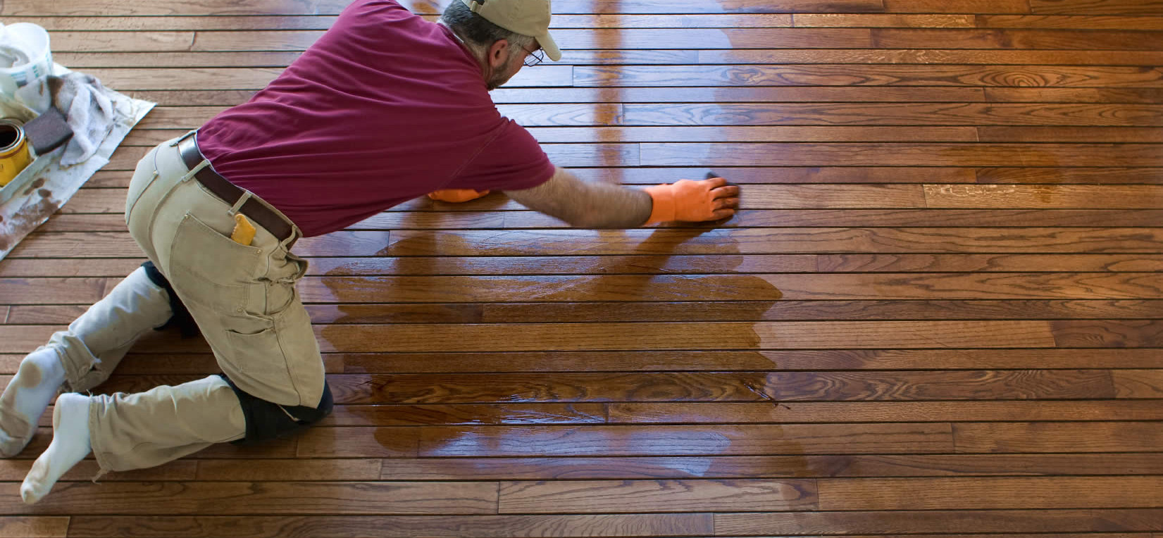 Hardwood Wood Floor Refinishing